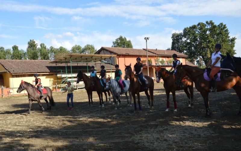 Lezioni di Equitazione e Corsi